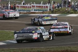 Lionel Ugalde, Ugalde Competicion, Ford; Sergio Alaux, Coiro Dole Racing, Chevrolet, und Diego de Carlo, JC Competicion, Chevrolet