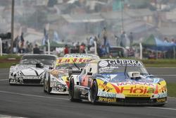 Luis Jose di Palma, Indecar Racing, Torino; Sergio Alaux, Coiro Dole Racing, Chevrolet, und Laureano Campanera, Donto Racing, Chevrolet