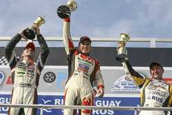 Podium: 1. Mariano Werner, Werner Competicion, Ford; 2. Juan Pablo Gianini, JPG Racing, Ford, und 3.