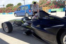 Team China Racing prueba nuevos componentes