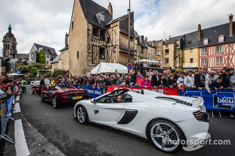 McLaren geçit töreni