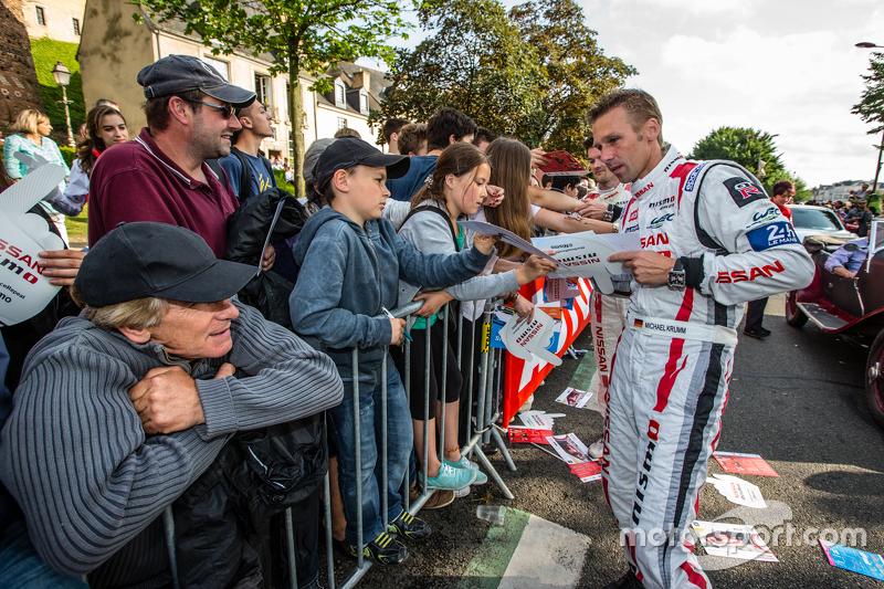 #22 Nissan Motorsports, Nissan GT-R LM NISMO: Michael Krumm