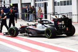 Stoffel Vandoorne, pilote d'essais et de réserve McLaren MP4-30