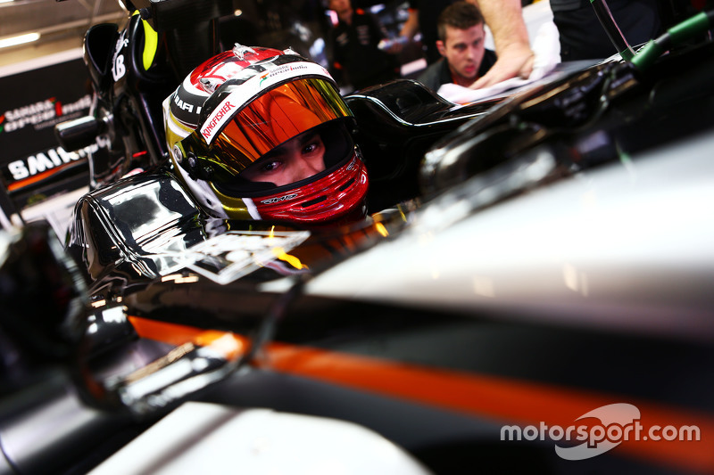 Pascal Wehrlein, Sahara Force India F1 VJM08, Testfahrer