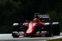 Esteban Gutierrez, Ferrari SF15-T, Test- und Ersatzfahrer bei Ferrari
