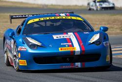 #105 Miller Motor Cars, Ferrari 458: Rodney Randall