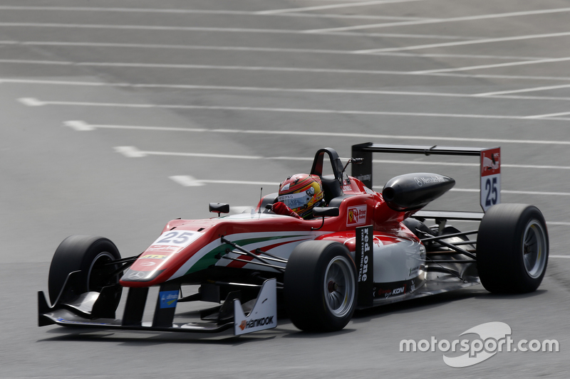 25 Lance Stroll, Prema Powerteam Dallara Mercedes-Benz