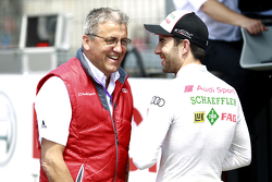 Ernst Moser, Audi Sport Team Phoenix and Mike Rockenfeller, Audi Sport Team Phoenix Audi RS 5 DTM