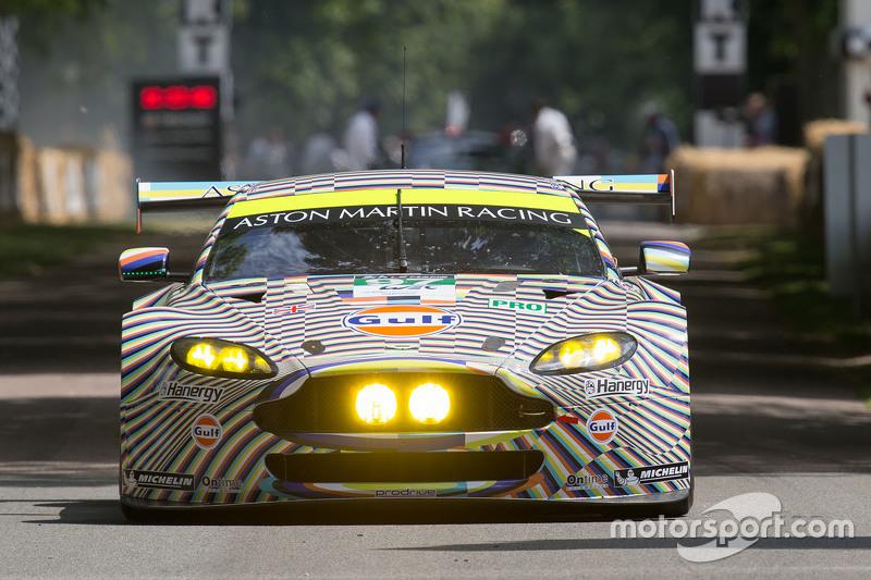 Nice Aston Martin V8 Vantage GTE Art Car