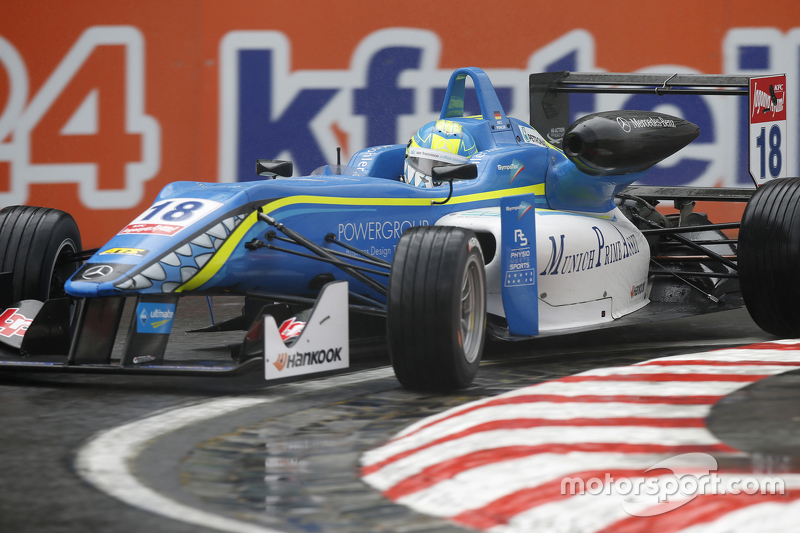 18. Nicolas Pohler, Double R Racing, Dallara Mercedes-Benz