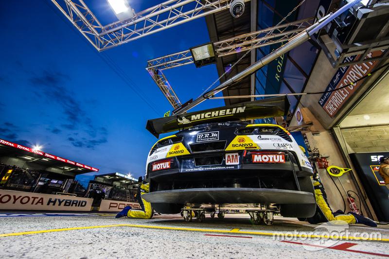 #50 Larbre Compétition Corvette C7.R: Paolo Ruberti, Gianluca Roda, Kristian Poulsen