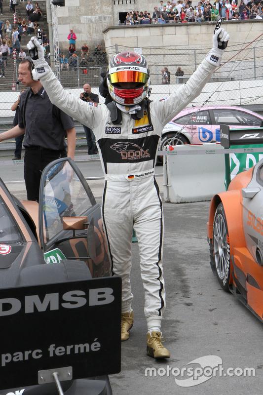 Winnaar Pascal Wehrlein, HWA AG Mercedes-AMG C63 DTM