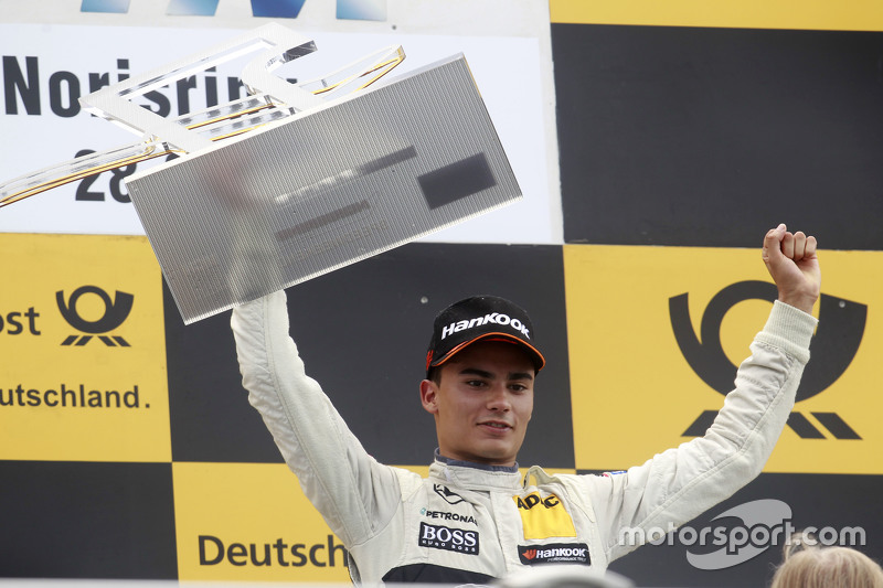 Podium: Pascal Wehrlein, HWA AG, Mercedes-AMG C63 DTM