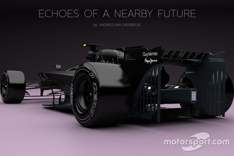 Formula 1 concept cars by Andries van Overbeeke