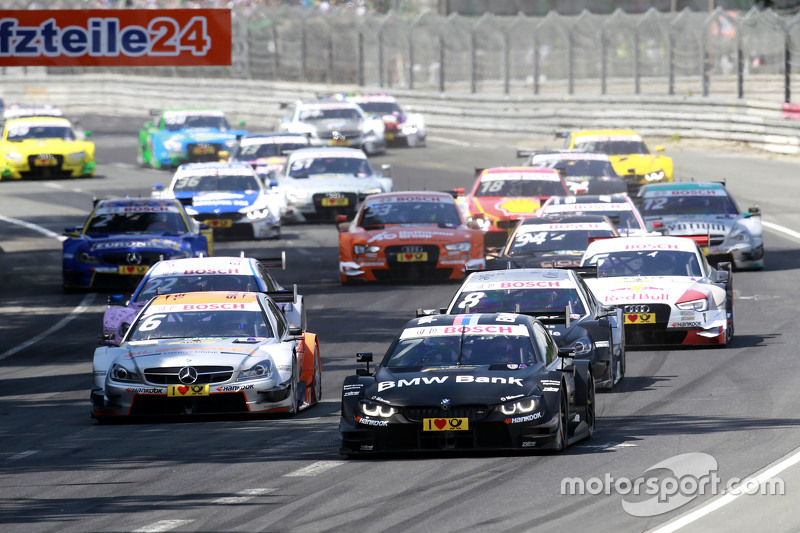 Start: Bruno Spengler, BMW Team MTEK BMW M4 DTM memimpin