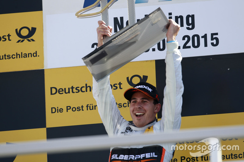 Podium: 1. Robert Wickens, HWA AG, Mercedes-AMG C63 DTM