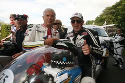 Giacomo Agostini et Phil Read