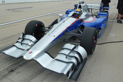 Matthew Brabham tests an Andretti Autosport IndyCar