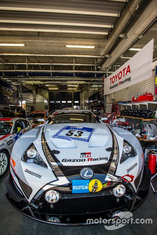#53 Gazoo Racing Lexus LFA Code X