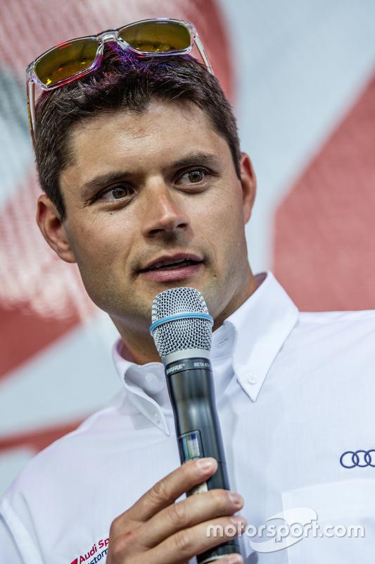 #29 Audi Sport Team WRT, Audi R8 LMS: Pierre Kaffer