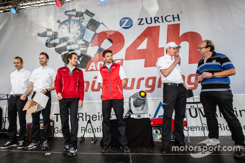 Phoenix Racing, Audi R8 LMS: Christopher Haase, René Rast, Markus Winkelhock, Christian Mamerow, Frank Stippler