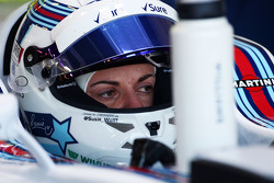 Susie Wolff, Williams FW37 Development Driver