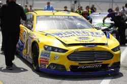 Das Unfallauto von Sam Hornish jr., Richard Petty Motorsports, Ford