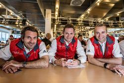Phoenix Racing: Markus Winkelhock, Marc Basseng und Christopher Haase