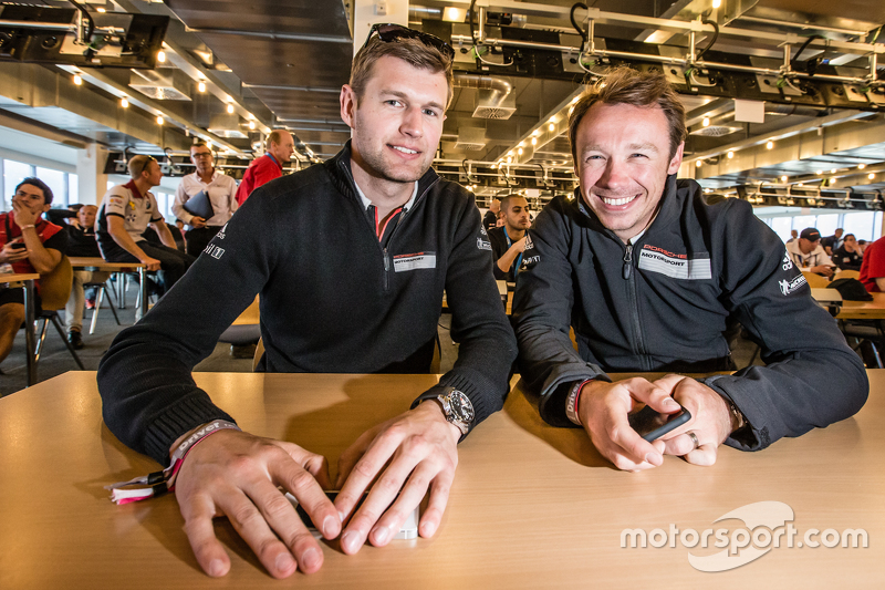 Team Manthey: Michael Christensen, und Frikadelli Racing: Patrick Pilet