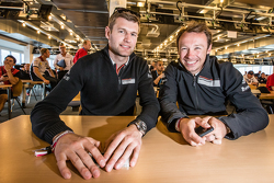 Team Manthey: Michael Christensen, und Frikadelli Racing: Patrick Pilet