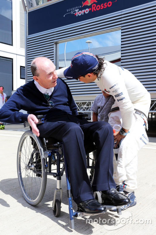 Frank Williams, Williams teambaas met Felipe Massa, Williams