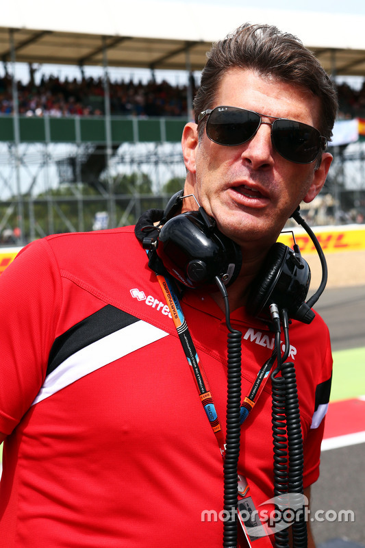 Graeme Lowdon, Manor F1 Team Chief Executive Officer on the grid