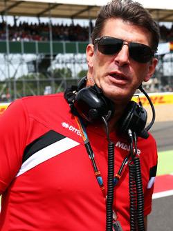 Graeme Lowdon, Manor F1 Team CEO op de grid