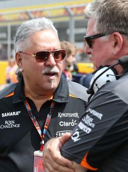 Виджей Малья, владелец команды Sahara Force India