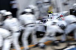 Valtteri Bottas, Williams F1 Team during pitstop