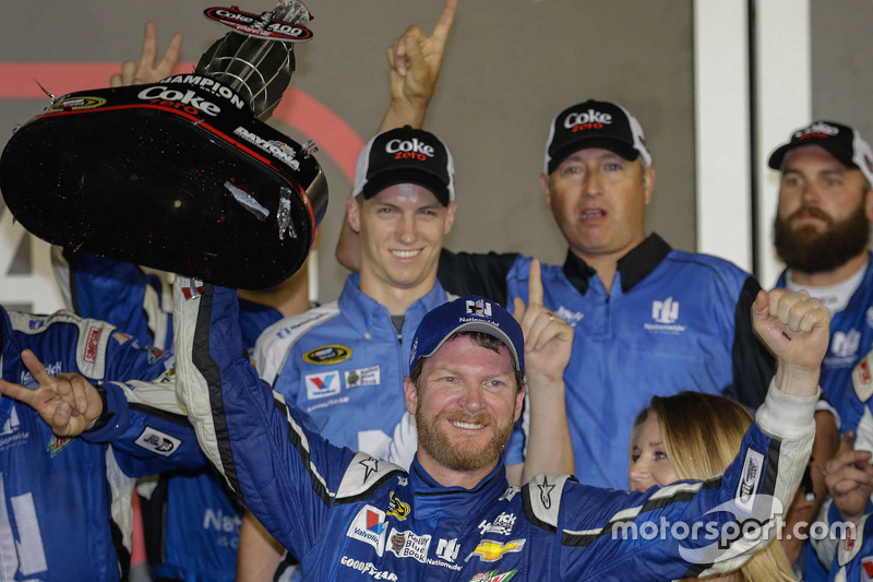 Juara balapan Dale Earnhardt Jr., Hendrick Motorsports Chevrolet