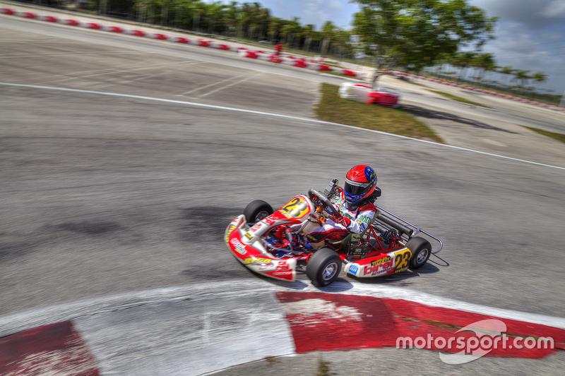 Emerson Fittipaldi jr. am Homestead Miami Speedway