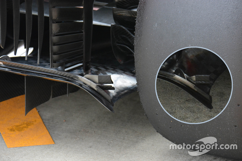 Technical analysis: Ferrari rear diffuser