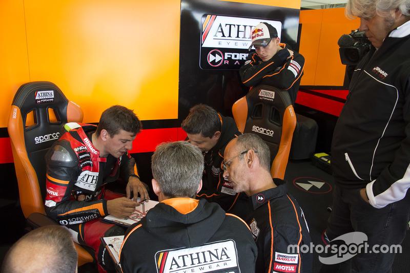Claudio Corti dan Stefan Bradl, Forward Racing Yamaha