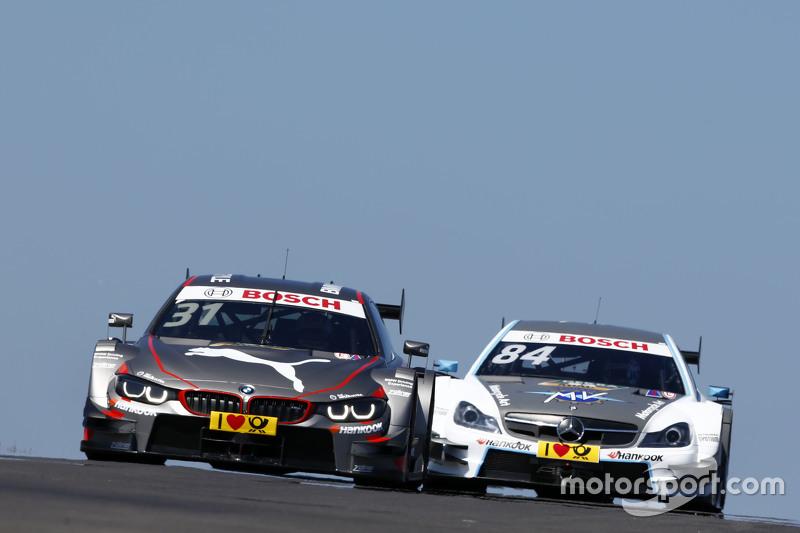 Tom Blomqvist, BMW Team RBM BMW M4 DTM, #84 Maximilian  Götz, Mücke Motorsport Mercedes-AMG C 63 DTM