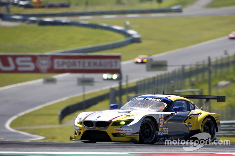 #52 BMW Team Marc VDS BMW Z4: Енді Пріоль, Henry Hassid, Jesse Krohn