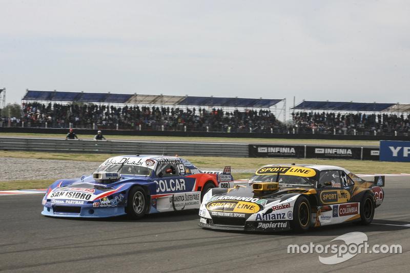 Матіас Родрігес, UR Racing Dodge та Леонель Пернія, Las Toscas Racing Chevrolet