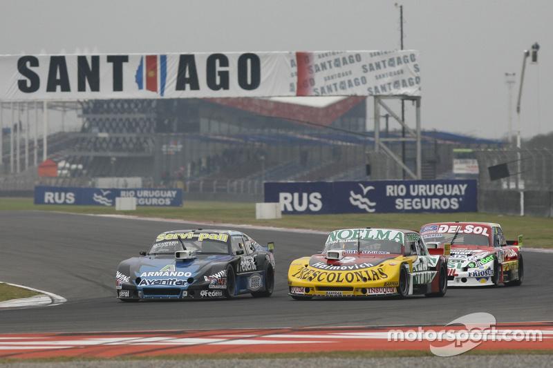 Diego de Carlo, JC Competicion Chevrolet and Nicolas Bonelli, Bonelli Competicion Ford and Juan Pabl