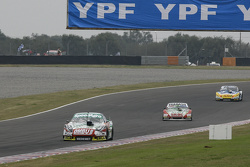 Facundo Ardusso, Trotta Competicion Dodge, dan Mariano Altuna, Altuna Competicion Chevrolet, dan Luis Jose di Palma, Inde car Racing Torino