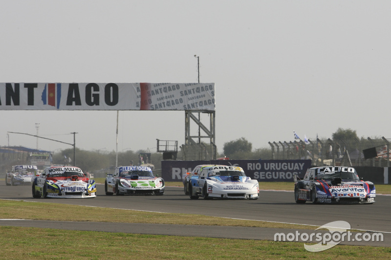 Emanuel Moriatis, Alifraco Sport Ford and Federico Alonso, Taco Competicion Torino and Mathias Noles