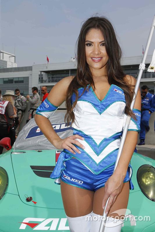 Lovely Falken Tire girl