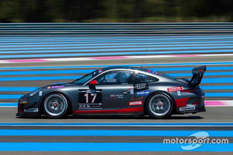 #17 Ruffier Racing Porsche 991 Cup: Patrice Lagargue, Paul Lafargue, Gabriel Abergel, Dimitri Enjalb