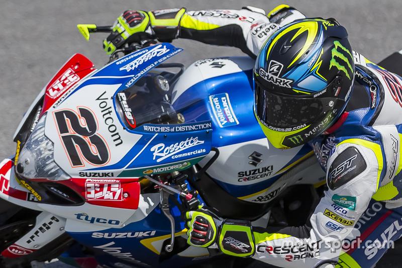 Alex Lowes, Crescent Racing Suzuki