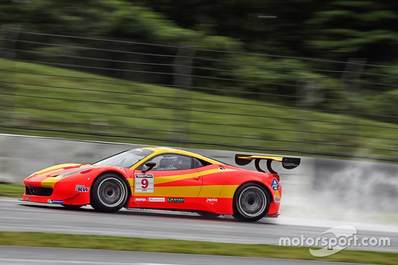 #9 Spirit of Race Ferrari 458 GT3: Max Wiser, Jiang Xin