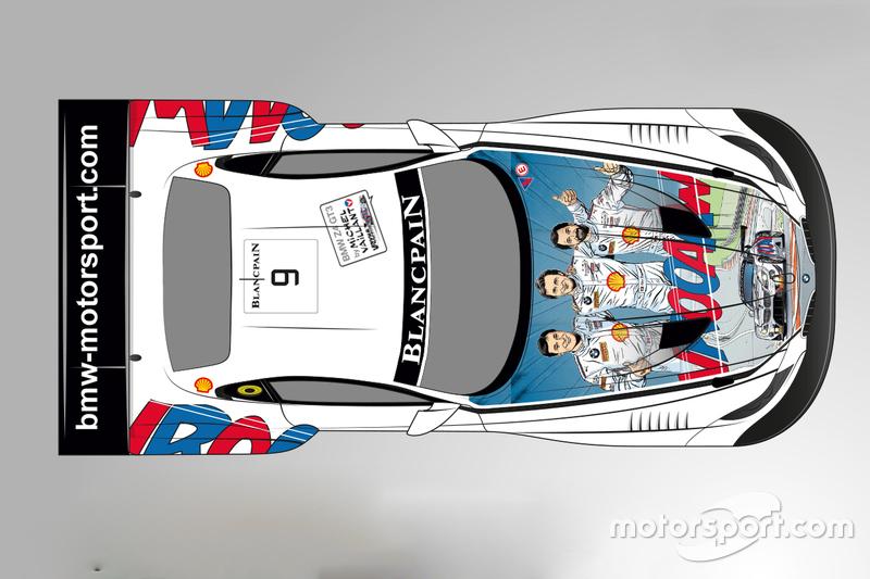 Livrea speciale ispirata a Michel Vaillant per la ROAL Motorsport